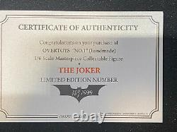 Overtoys The Dark Knight Joker 1/6 Rooted Hair Extremely Rare US seller
