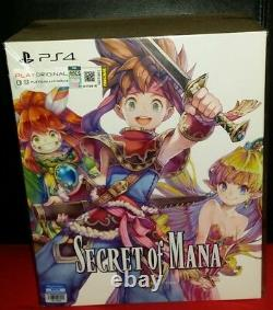 PS4 Secret Of Mana English Collectors Edition! Extremely Rare