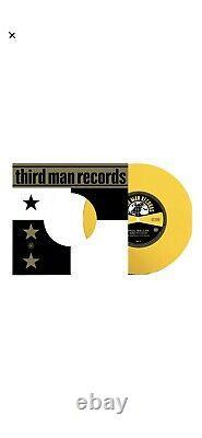 Paul Weller Third Man Records Extremely Rare YELLOW VINYL 7 SINGLE