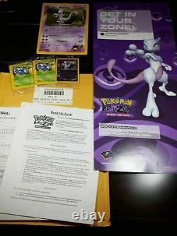 Pokemon WOTC Battle Zone Tournament June Kit Best Of Game Winner EXTREMELY RARE