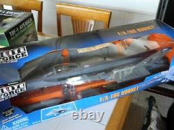 Reduced Extremely RARE BBI ELITE FORCE F-18 HORNET. 1/18 SCALE, RETIRED