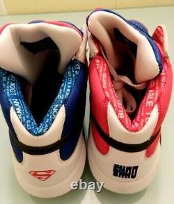 Reebok Shaq Attaq 1 Superman Super Extremely Rare Men's Size 14