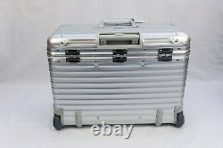 Rimowa Topas pilot Pilotenkoffer 2 wheels extremely rare Made in Germany NEW