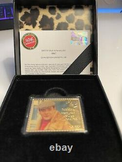 Royal Mail Only Fools and Horses Del Boy Gold Stamp EXTREMELY RARE