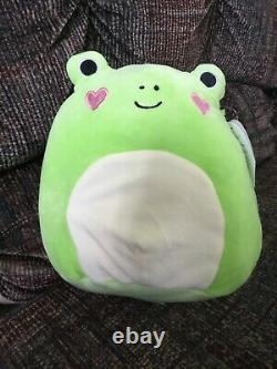 Squishmallow Philippe The Valentines Day Heart Cheek Frog 8 Extremely Rare