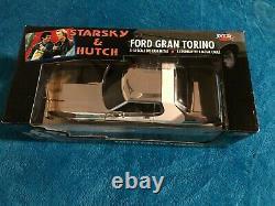Starsky & Hutch Chrome 118 Scale Die cast Ford Gran Torino (EXTREMELY RARE)