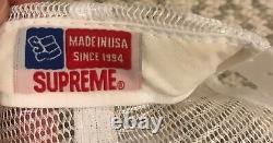 Supreme x Rammellzee mesh trucker hat / cap Extremely rare 2005