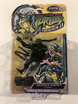 TMNT Fast Forwards Secret Agent Don 2006 New Sealed EXTREMELY RARE Donatello UK