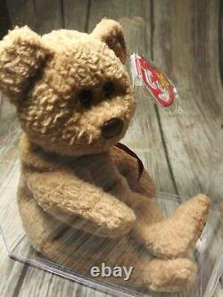 Ty Beanie Baby ORIGiiNAL CURLY- EXTREMELY SURFACE STAMP Best RARE GIFT