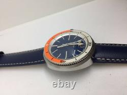 Vintage Extremely Rare Venus Professional Divers Watch, 1960s, NOS Stunning