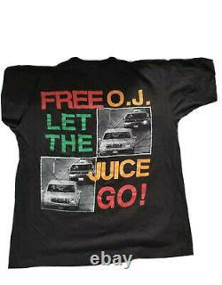 Vintage OJ Simpson Rap Tee 90s Very Extremely Rare T Shirt