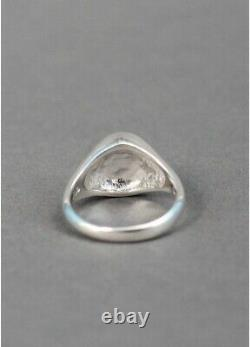 Vivienne Westwood Extremely Rare Sigillo Ring Sterling Silver 925
