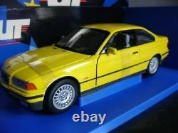 WOW EXTREMELY RARE BMW E36 328i Coupe 1994 Yellow 118 Minichamps/ UT-E46/M3/GTR