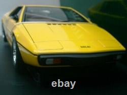 WOW EXTREMELY RARE Lotus 1979 Esprit S2 RHD 160HP Yellow 118 Auto Art-111/V8/GT