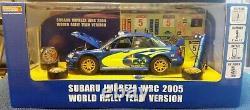 WOW EXTREMELY RARE Subaru Impreza 2005 WRC Solberg Diorama Camber 124 Hotworks