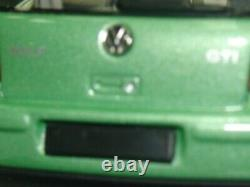 WOW EXTREMELY RARE VW Golf IV 4 GTi 1.8 20V Turbo 1997 Green 143 Minichamps-R32