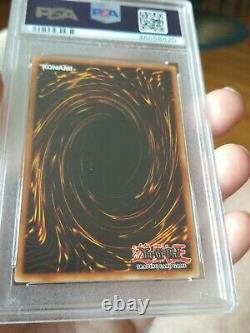 YUGIOH Dark Magician LOB 005 1st Ed. PSA 10 GEM MINT WAVY 1st Print Run RARE