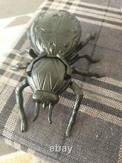 Zippo, 3d Golden Spider On Edge With Spider Display Ltd Edition (extremely Rare)