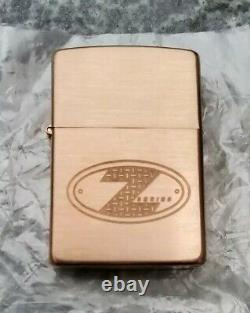 Zippo, Solid Copper, Z-series, Copper Project, Europe, Ltd (extremely Rare)
