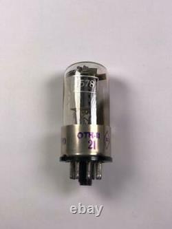 1 X Extrêmement Rare 1578 6n8s Audiophile 6h8s 6sn7 Tube De Base Métallique