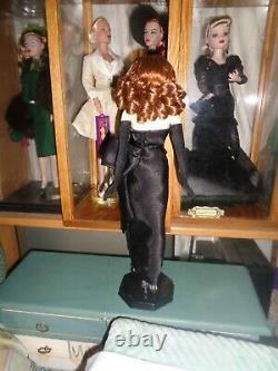 14.5 Rita Hayworth Vinyl Doll Comme Gilda-orig. 2000 Avec Box&certificat-excellent