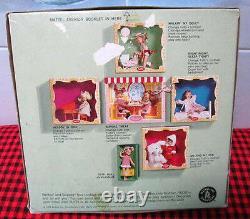 1966 Extrêmement Rare Vtg. Tuttiboxed Setnight Nuit Sleep Tight3553new+mint
