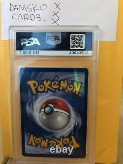 1999 Pokemon Espagnol 1ère Édition Chansey Holo Psa 10 Pop 1 Wotc Extrêmement Rare