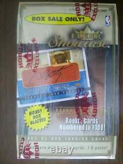 2003-04 Fleer Showcase Basketball Hobby Blaster Box Rarissime