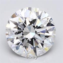 3.21ct D If 3x Ex Rond Naturel Gia Cert Diamant Lâche Extrêmement Rare