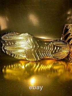 Air Jordan 11 Retro Personnalisés 24k Gold Extrêmement Rare One Of A Kind