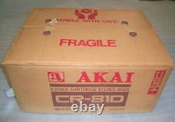 Akai Cr-81d 8 Track Player/recorder New Old Stock-extremely Rare! Lire Détails