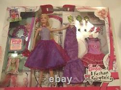 Barbie A Fashion Fairytale Doll Gift Set 2010 Extrêmement Rare Htf