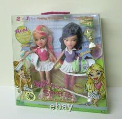 Bratz Sportz Teamz Cloe & Jade Dolls (tennis) Bnib Extrêmement Rare
