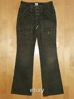 C'est Quoi, Ça? Extrêmement Rare! New Joie Cargo Cord Pantalon Vert Aso Bella Swan Twilight 24