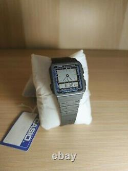 Casio Ae-9w (1984) Nos Montre Vintage Extrêmement Rare Wr50 Fabriquée Au Japon