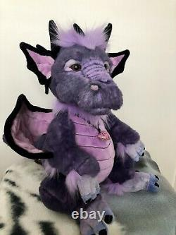 Charlie Bear Scorch Dragon Nouveau Extremely Rare