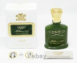 Creed Millesime 1849 75 ML / 2,5 Fl. C'est Vrai. Edp Unisex Nouveau Rare Extremely Non Utilisé