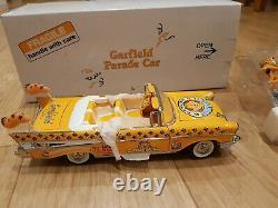 Danbury Mint Garfield Chevrolet Parade Voiture Neuve Dans La Boîte Extrêmement Rare Nouveau