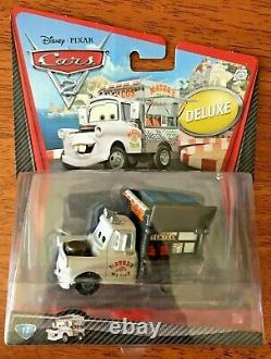 Disney Pixar Cars 2 #13 Taco Truck Mater Deluxe Bnip Extrêmement Rare
