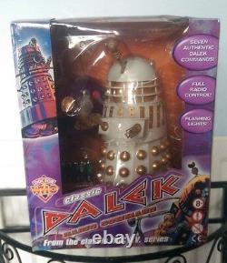 Docteur Qui 12 Pouces Extrêmement Rare Contrôle À Distance Impérial Dalek