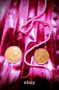 Extrêmement Rare 1971 New Pence 2p Coin Collectors Item Fleur De Iris