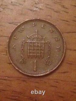 Extrêmement Rare 1974 New Penny 1p