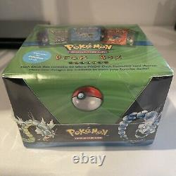 Extrêmement Rare 1999 Wotc Pokemon Factory Sealed Booster Deck Box Case