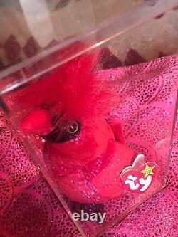 Extrêmement Rare Bonnet Bébé Mac Le Cardinal