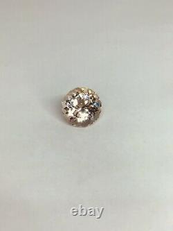Extrêmement Rare Champagne Rose Killiecrankie Diamond Tasmania Flawless 13.75 Ct
