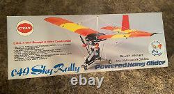Extrêmement Rare Cox Sky Rally. 049 Vintage 1/8 Échelle Planeur À L'échelle