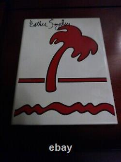 Extrêmement Rare Dans N Out Burger Esther Snyder Signé Carreaux De Céramique