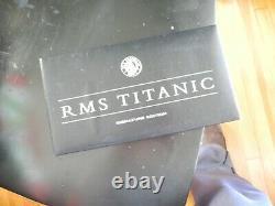 Extrêmement Rare Franklin Mint R.m. S. Titanic Model Ship Ocean Liner Nib