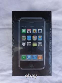 Extrêmement Rare Iphone 1ère Génération 4 Go Noir Sealed Nib
