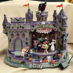 Extrêmement Rare Lemax Spooky Town Retraité 2008 Halloween Party Brand New